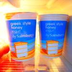 冷蔵庫がストックまみれ!ギリシャヨーグルトの効果