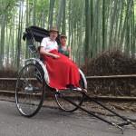 京都で外国人に人気のアトラクションと言えば人力車