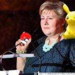 ノルウェー首相が国会中にポケモンGOやってたって話